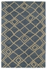 Modern Diamonds Casablanca Rug in Blue