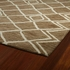 Modern Diamonds Casablanca Rug in Brown