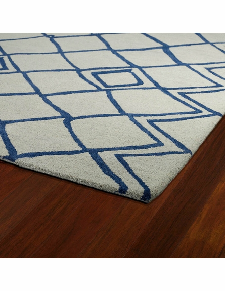 Modern Diamonds Casablanca Rug in Ivory