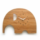 Modern Elephant Wall Clock