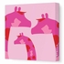 Modern Giraffe Canvas Wall Art