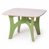 Modern Green and White Kids Table