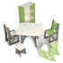 Modern Grey and White Kids Table