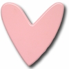 Modern Heart Pink Drawer Pull