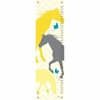 Modern Horses in Yellow Growth Chart