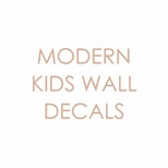 Modern Kid�s Wall Decals