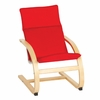 Modern Kiddie Rocker Red