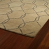 Modern Links Casablanca Rug in Light Brown