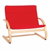 Modern Nordic Couch Red