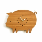 Modern Piggy Wall Clock