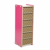 Modern Pink and White 6 Drawer Organizer