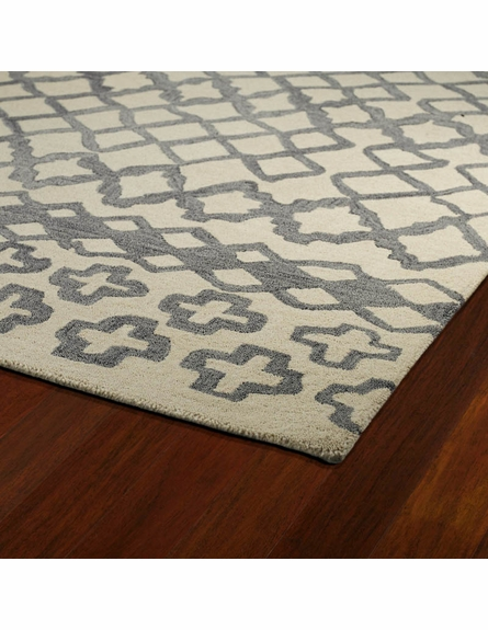 Modern Shapes Casablanca Rug in Gray