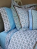 Modern Vintage Blue Collection Pillow