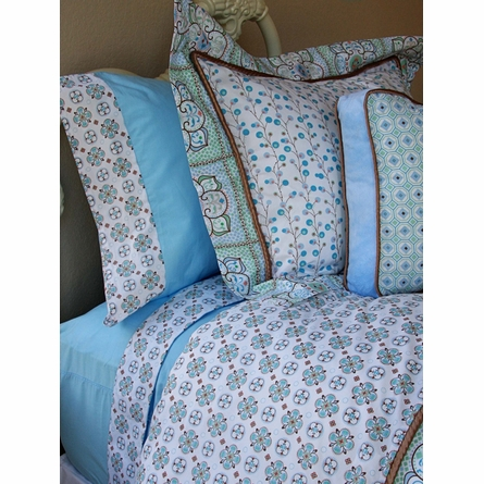 Modern Vintage Blue Sheet Set