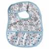 Modern Vintage Blue Small Moroccan Coated Bib