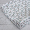 Modern Vintage Blue Small Moroccan Cotton Changing Pad Cover