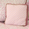 Modern Vintage Pink Throw Pillow