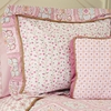 On Sale Modern Vintage Pink Pillow Sham