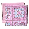 Modern Vintage Pink Large Moroccan Burp Cloth Set