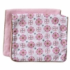 Pink Small Moroccan Burp Cloth Set
