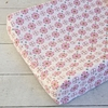 Modern Vintage Pink Small Moroccan Cotton Changing Pad Cover