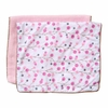 Modern Vintage Pink Twiggy Burp Cloth Set