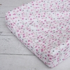 Modern Vintage Pink Twiggy Cotton Changing Pad Cover