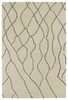 Modern Waves Casablanca Rug in Ivory