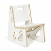 Modern White Kids Rocking Chair