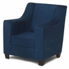 Modern Wingback Childs Chair in Blue