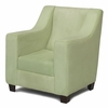 Modern Wingback Childs Chair in Sage