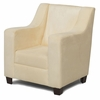 Modern Wingback Childs Chair in Yellow