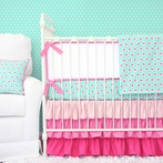 Molly's Mint Crib Bedding Set