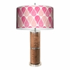 Mom Walnut Table Lamp