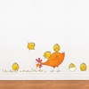 Mommy and Baby Chicken Wall Decal