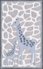 Mommy and Me Giraffe Rug