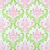 Monarch - Hot Pink and Green Fabric by the Yard