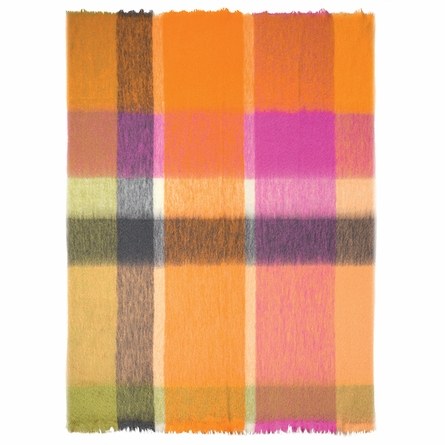 Monceaux Saffron Throw Blanket