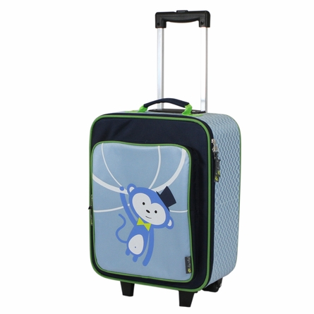Monkey Adventure Happens Rolling Suitcase