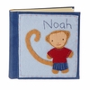 Monkey Boy Felt Patch Personalized Photo Album