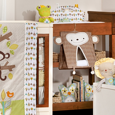 Monkey Diaper Stacker