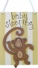 Monkey Doorhanger