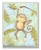Monkey Jungle Wall Plaque