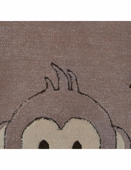 Monkey Shaped Rug