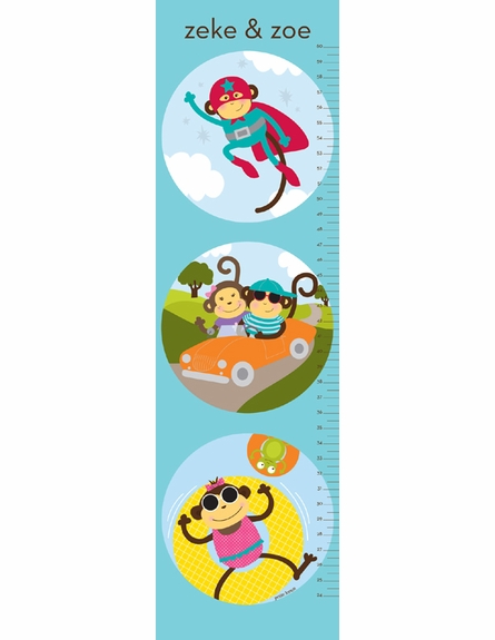 Monkeying Pals Growth Chart