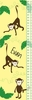 Monkeys on Yellow Growth Chart