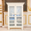 Monogrammed Armoire in White