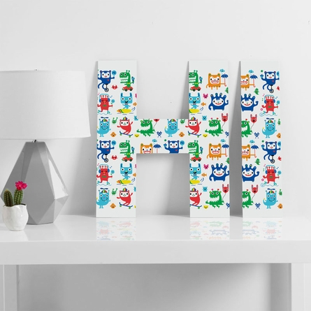 Monster Love Decorative Letters