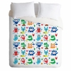 Monster Love Luxe Duvet Cover