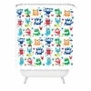 Monster Love Shower Curtain